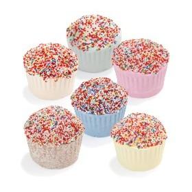 Muffin effervescent  au beurre de karité chocolat - Carton 6