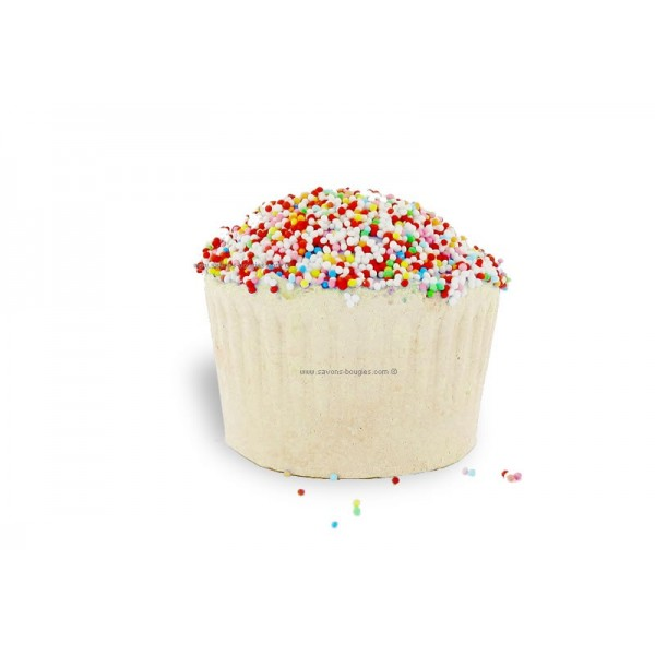 Muffin effervescent  au beurre de karité vanille - Carton 6