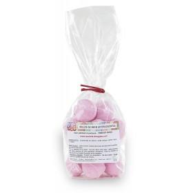 Mini-billes effervescentes  fraise - Sachet 15