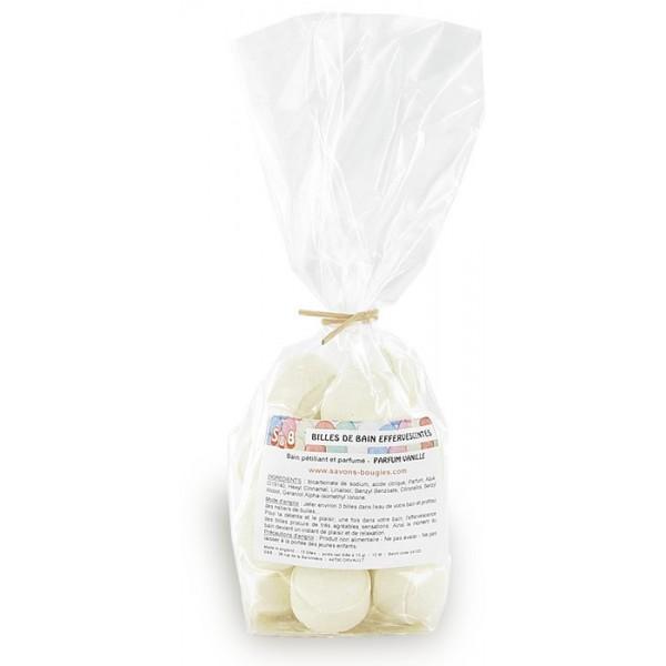 Mini-billes effervescentes  vanille - Sachet 15