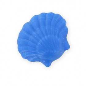 Savons sujets Mer Coquillage bleu - Sachet 10