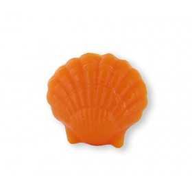 Savons sujets Mer Coquillage orange - Sachet 10
