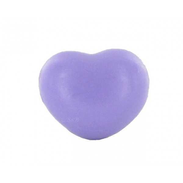 Savons sujets Cœur violet 25g - Sac 50