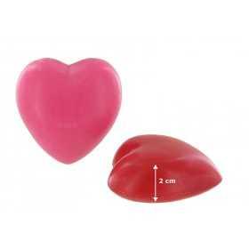 Savons sujets Cœur rouge 40g - Sac 50