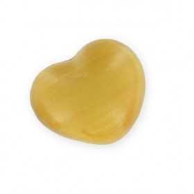 Savons sujets Cœur or (miel) 25g - Sac 50