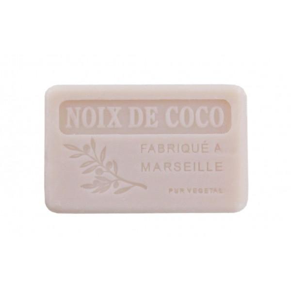 9 Savons 100g filmés, étiquetés - NOIX DE COCO