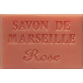 Savonnette Marseille 60g rose - Lot 6