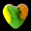 Savon glycérine coeur Ananas - Boîte de 10