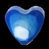 Savon glycérine coeur Blue sensation - Boîte de 10