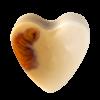 Savon glycérine coeur Coco - Boîte de 10