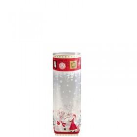 Sachet confiseur fond carton Rêve de Noël2847
