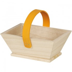 Panier en bois Orange - Lot 4