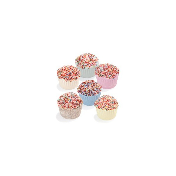 Muffin effervescent  au beurre de karité mix 6 parfums - Carton 72