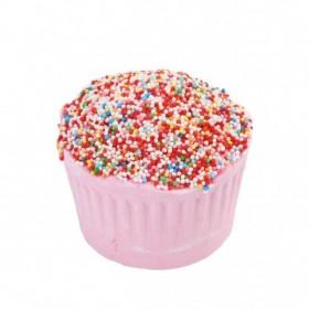 Muffin effervescent  au beurre de karité fraise - Carton 6