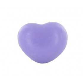 Savons sujets Cœur violet 25g - Sachet 10