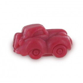 Savons sujets Transport voiture rouge - Sachet 10