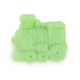 Savons sujets Transport Train vert - Sac 50