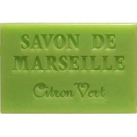 Savonnette Marseille 60g citron vert - Boite 16