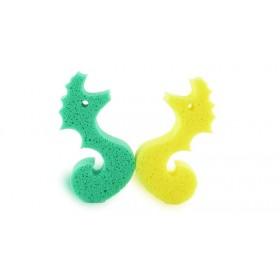 Eponge ludique hippocampe - Vert