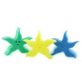 Eponge ludique étoile de mer - Jaune