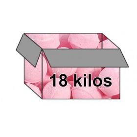 Mini-billes  fraise - Carton 18 kilos