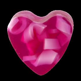 Savon glycérine coeur Antigone - Boîte de 10
