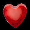Savon glycérine coeur Fraise - Boîte de 10