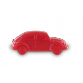 Savon voiture coccinelle rouge - Sachet 10