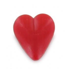 Savon coeur rouge 34g - Sachet 10