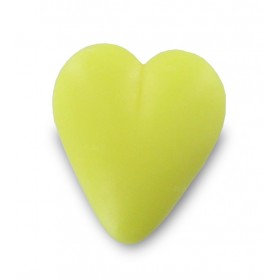 Savon coeur jaune 34g - Carton 600