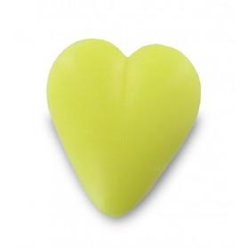 Savon coeur jaune 34g - Sachet 10