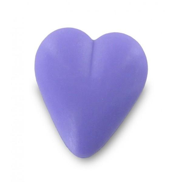 Savon coeur lavande 34g - Sachet 10