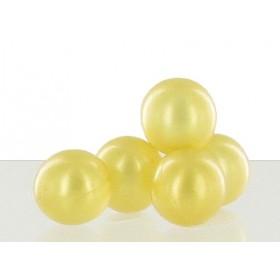 Perle de bain parfum monoï or - Sac 50