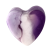 Savon glycérine coeur Lavande - Boîte de 10
