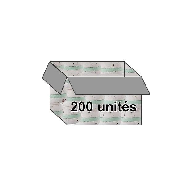 Macaron parfum rose - Carton de 200