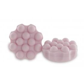 30 shampoings solides avec picots - Rose cheveux abîmés