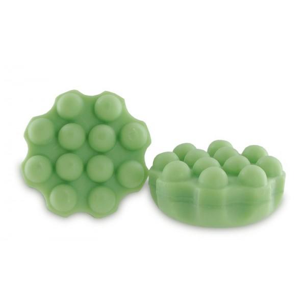 30 shampoings solides avec picots - Vert cheveux délicats