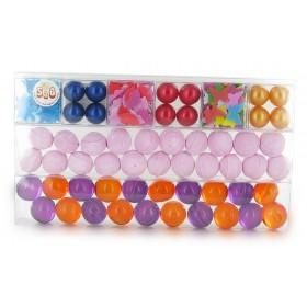 Boîtes rectangulaires en PVC - 263x49x22mm - Carton 450