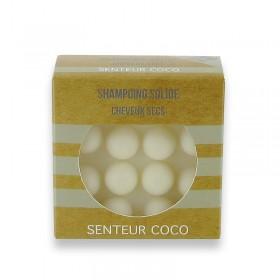 27 shampoings solides avec picots - Blanc cheveux secs