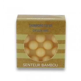 162 shampoings solides avec picots - Jaune cheveux gras