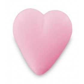 Savon cœur rose 34g - Sachet 10