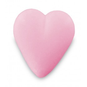 Savon cœur rose 34g - Carton 600