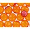 Perles de bain Grand format parfum pêche - Sac 200