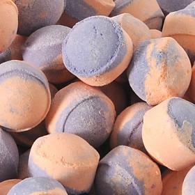 Mini-billes  orange/patchouli - 1 kilo