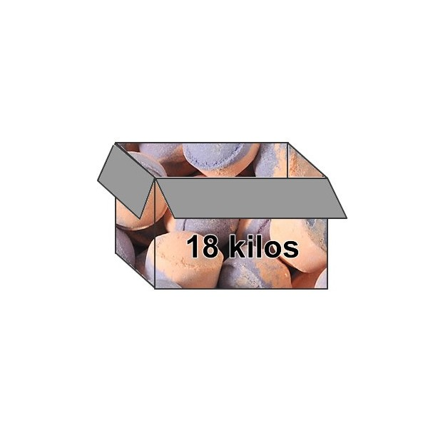 Mini-billes  orange/patchouli - Carton 18 kilos