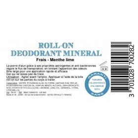 Alun Roll-on Menthe et lime - Boite de 8