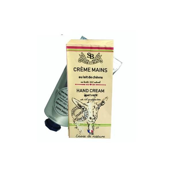 12 Crèmes main  au Lait de chèvre bio