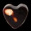 Savon glycérine coeur Chocolat - Boîte de 8