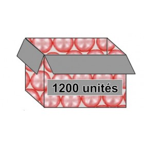 Perle de bain parfum rose - Carton 1200