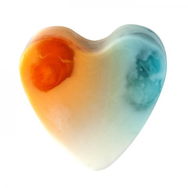 Savon glycérine coeur Sunlight - Boîte de 8
